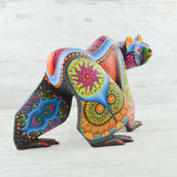 Skull Huichol Art Beaded Animals - magiamexica.com