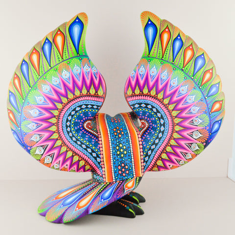 Alebrije Oaxacan Wood Carving Snake - Magia Mexica