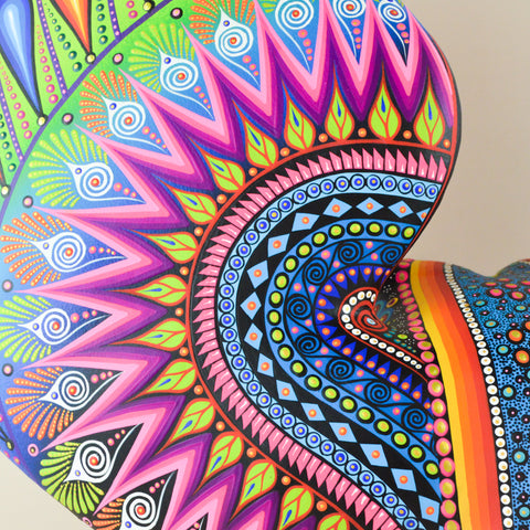 Image of Alebrije Oaxacan Wood Carving Snake - Magia Mexica