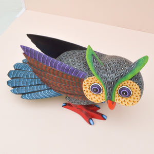 Alebrije Oaxacan Wood Carving Rino - Magia Mexica