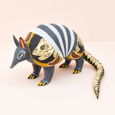 Rabbit Huichol Art - Mexican Folk Art - Magia Mexica