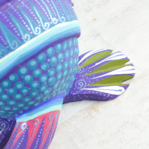 Image of Armadillo Alebrije Oaxacan Wood Carving - Magia Mexica
