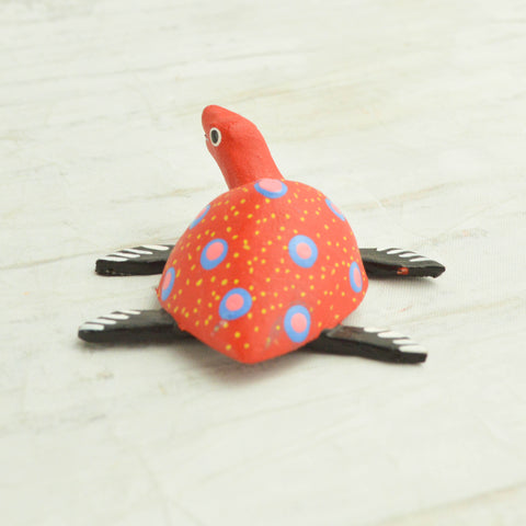 Turtle Mini Alebrije - Magia Mexica