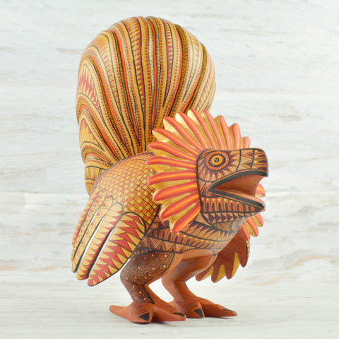 Alebrije Oaxacan Wood Carving Rooster - magiamexica.com
