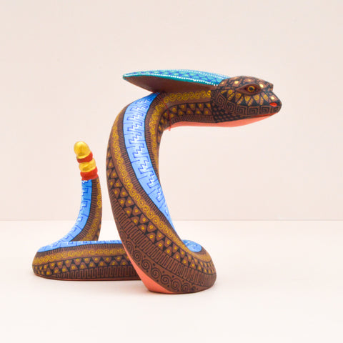 Image of Dog #82 Alebrije Oaxacan Wood Carving - Alebrije Huichol Mexican Folk art magiamexica.com