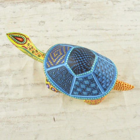 Turtle Alebrije Oaxacan Wood Carving