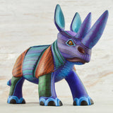 Wolf Alebrije Oaxacan Wood Carving - magiamexica.com