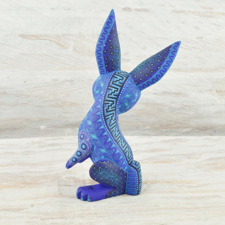 A1669 Cat Alebrije Oaxacan Wood Carving