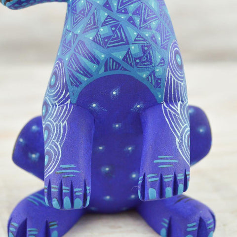 Alebrije Oaxacan Wood Carving Rabbit - Magia Mexica