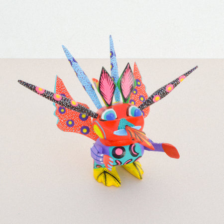 Monkey Alebrije Coco Oaxacan Wood Carving
