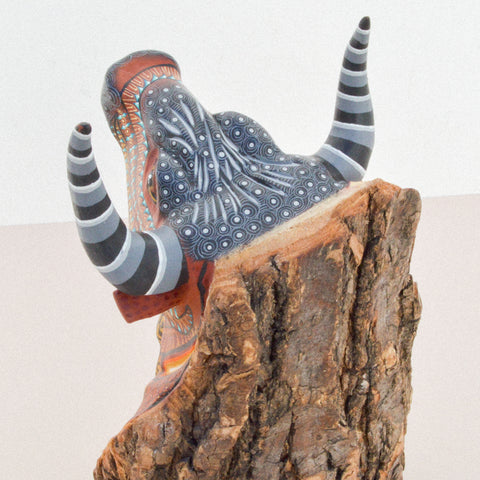 Image of Huichol Art Beaded Animals Cat - Magia Mexica