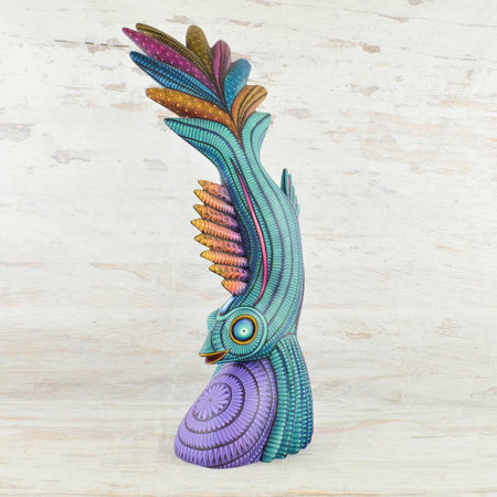 A1672 Dog Alebrije Oaxacan Wood Carving