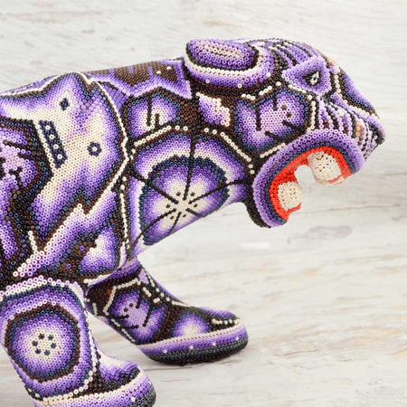 Skull Alebrije Oaxacan Wood Carving