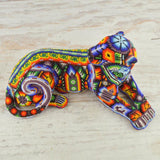 M052 Blue-Brown Pegion Mini Alebrije