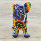 M058 Purple-Pink Pegion Mini Alebrije