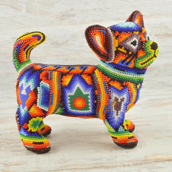 M059 Red-Blue Pegion Mini Alebrije