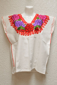 Embroidered Mexican Blouse | Chonita