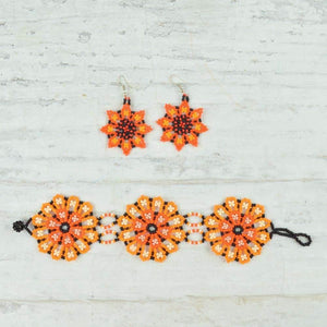 Bracelet and Earrings - Magia Mexica