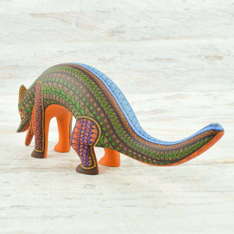 Image of Coyote #100 Alebrije Oaxacan Wood Carving