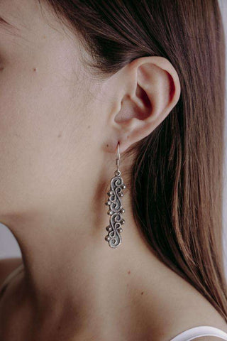 Image of Earrings Large Columns
