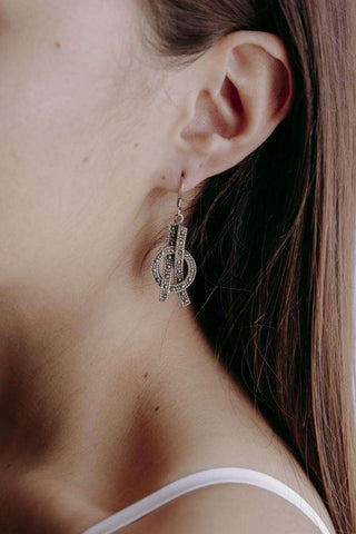 Image of Earrings Ribbons