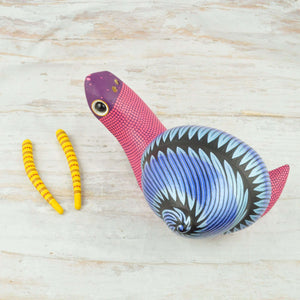 Snail Alebrije Oaxacan Wood Carving - Magia Mexica