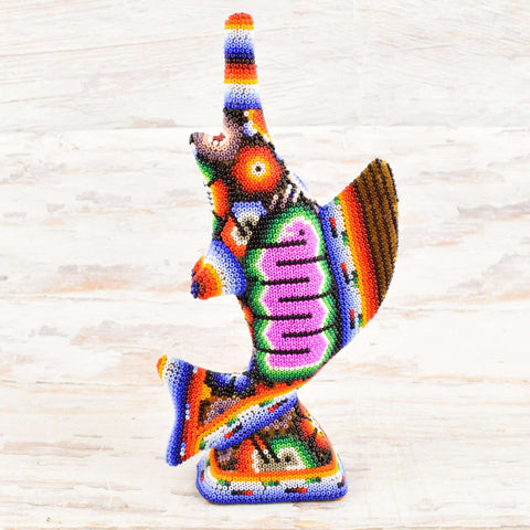 Swordfish Huichol Art