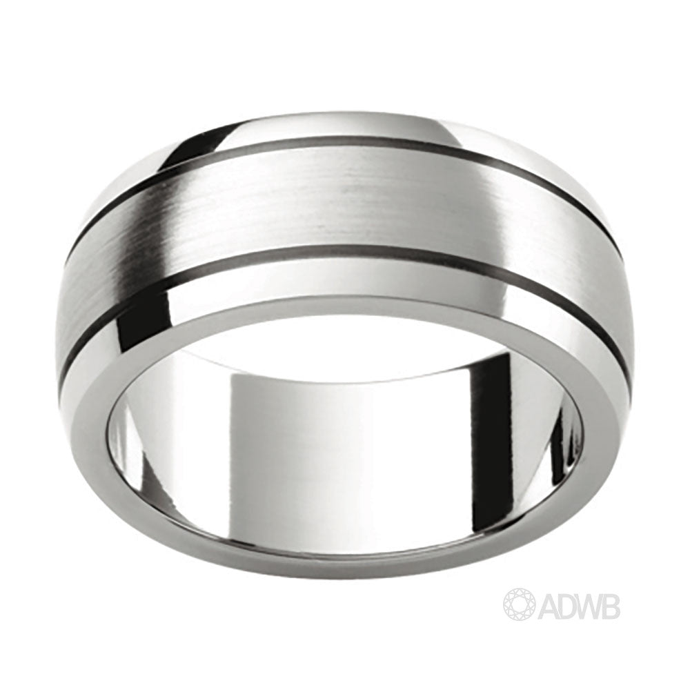 Australian Diamond Broker - 18ct White Gold Barrel design