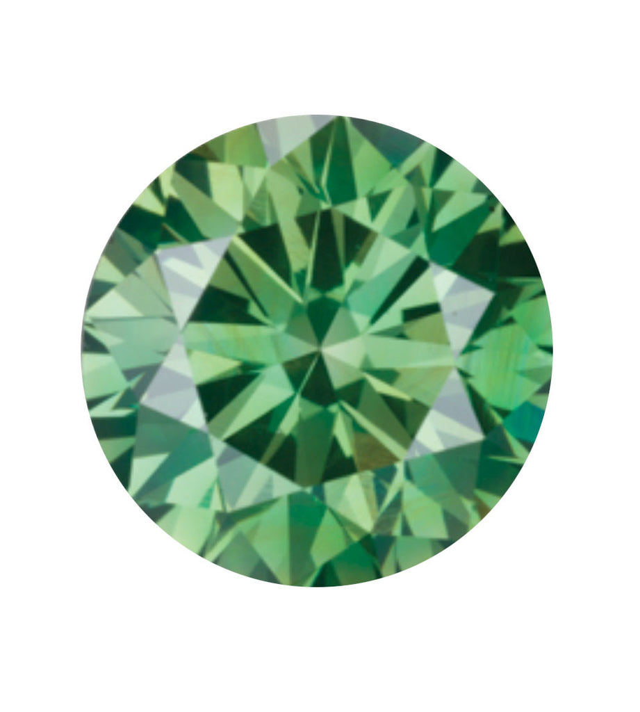 Emerald green coloured diamond available in Forest Green, Emerald Green, Ice Green and Pine Green
