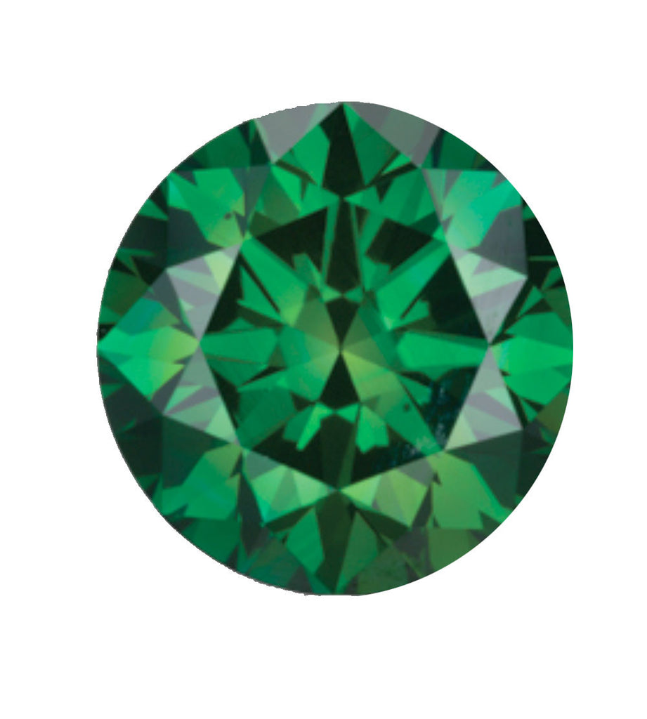 Forest green coloured diamond available in forest green, emerald green, ice green & pine green.