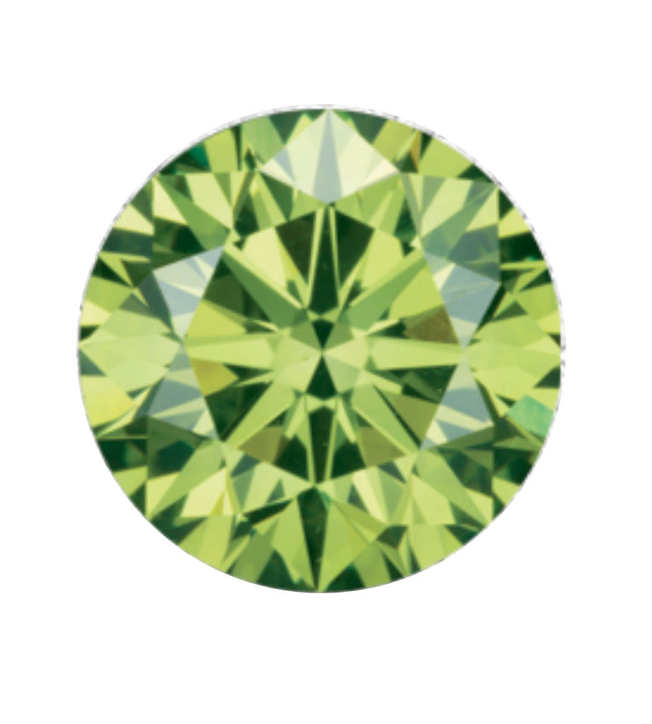 Ice green coloured diamond, green diamonds come in three shades; Forest Green, Emerald Green, Ice Green & Pine Green.