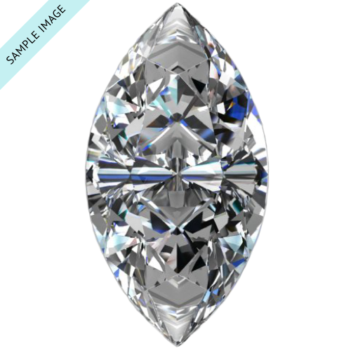 0.53 carat Marquise diamond J color SI2 clarity