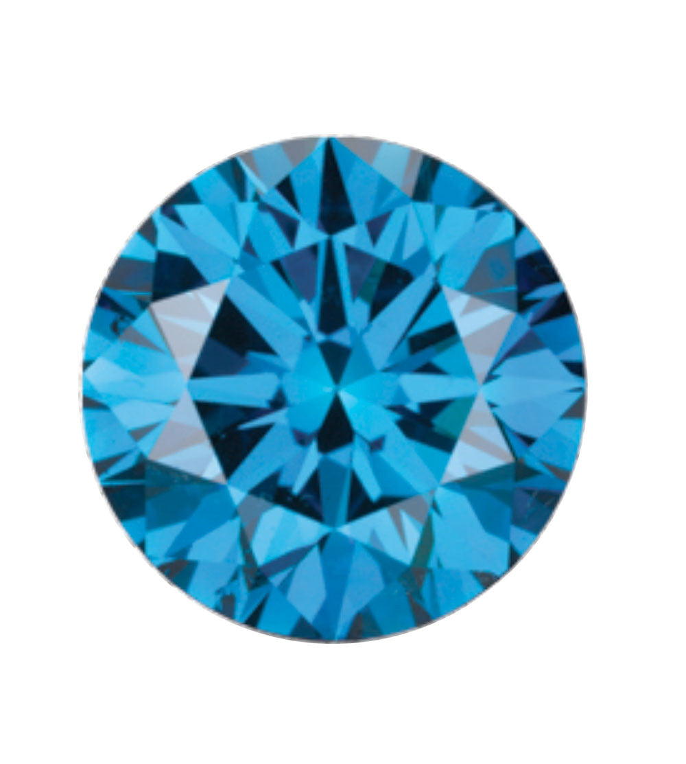 Australian Diamond Broker - Ocean blue coloured diamond
