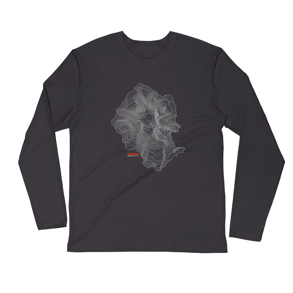 Mount Adams - Long Sleeve Fitted Crew