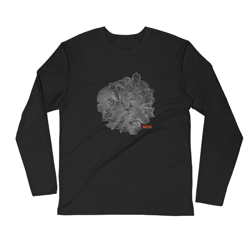 Mount Shasta - Long Sleeve Fitted Crew