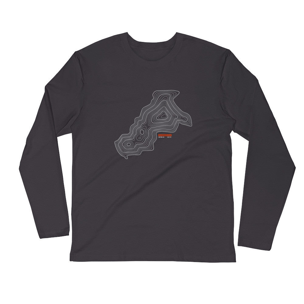 Algonquin Peak - Long Sleeve Fitted Crew