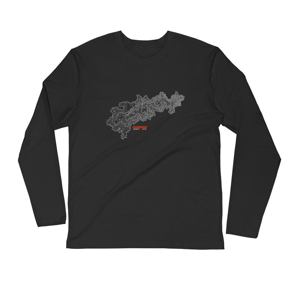 Mount Tamalpais - Long Sleeve Fitted Crew