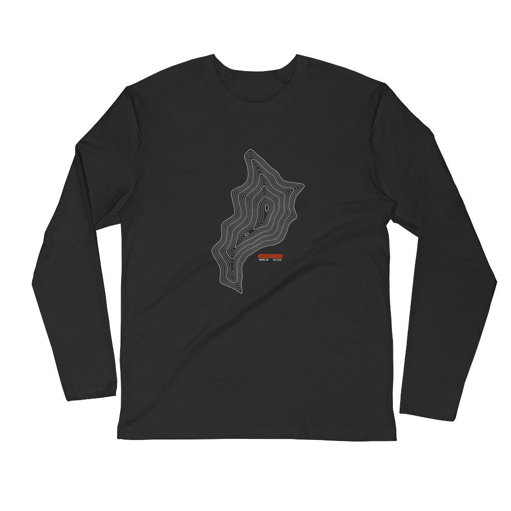 Humphreys Peak - Long Sleeve Fitted Crew
