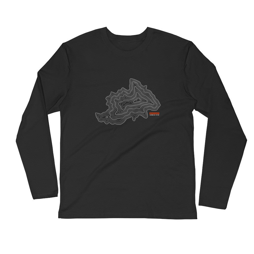 Mount Diablo - Long Sleeve Fitted Crew