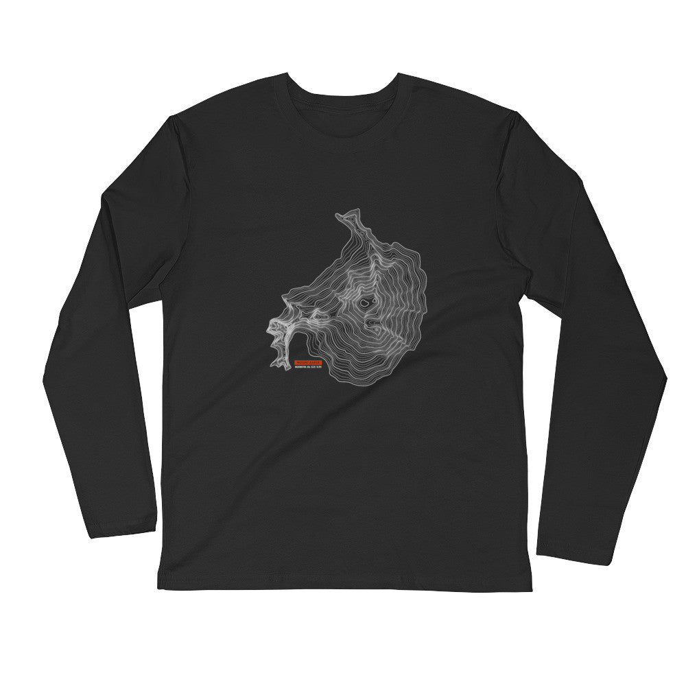 Mount Baker - Long Sleeve Fitted Crew
