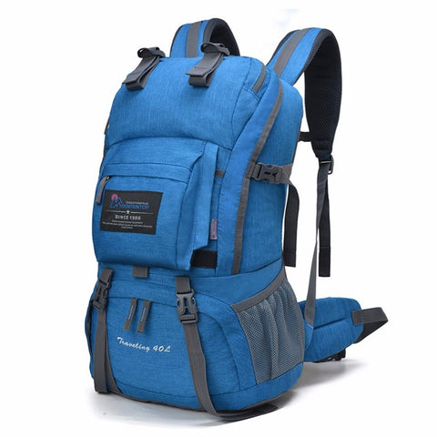 40L Polyester Hiking Backpack