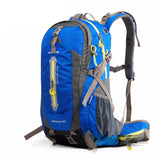 40-70L Mountain Hiking Polyester Backpack