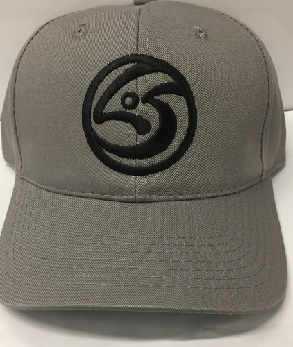 Grey Leftover Salmon Logo Baseball Cap