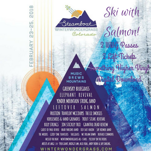 JOIN US AT WINTERWONDERGRASS AND SKI WITH THE BAND! Purchase by 2/20, only 1 available