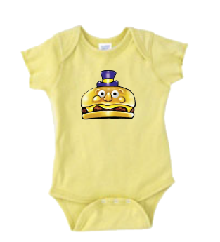 Mayor McCheese Banana Onesie - 12/18 months old