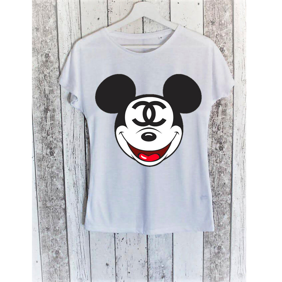 CAMISETA MICKEY CHANEL