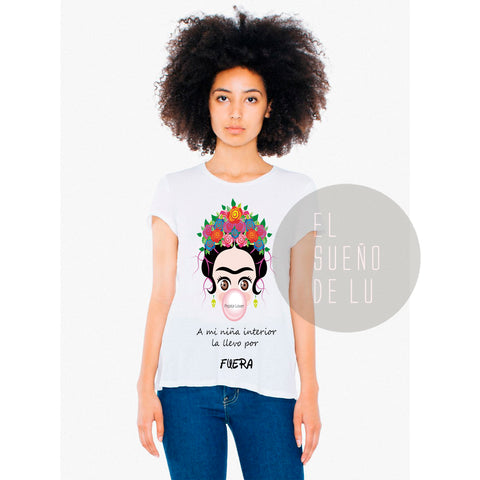 CAMISETA FRIDA CHICLE