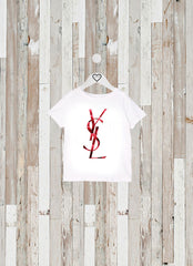 Copy of CAMISETA KIDS YSL FRAMBUESAS