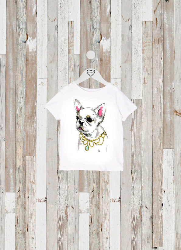 CAMISETA KIDS BULLDOG COLLAR