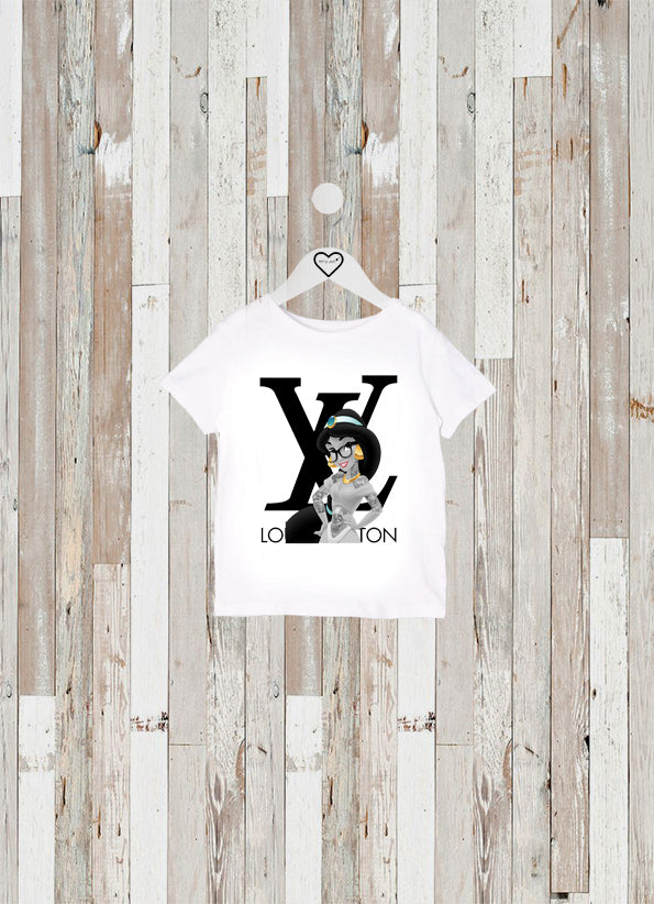 CAMISETA KIDS JASMINE LOUIS VUITTON
